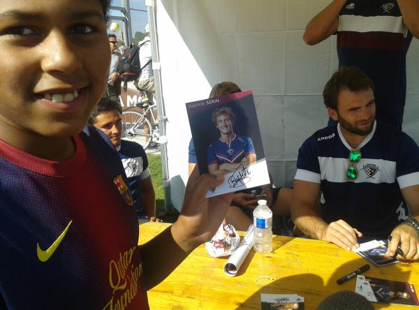 autographe-ubb-quai-des-sports Bordeaux