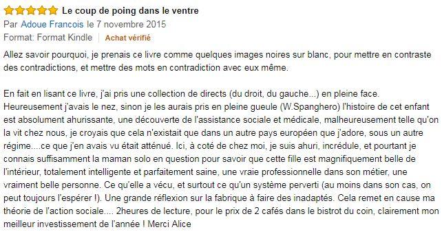 Commentaire Amazon Dico illustre d'une présumée cas soc'-Alice Diotie